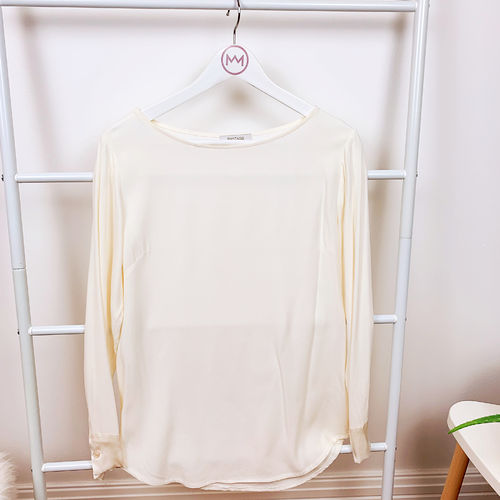 "Basic Bluse ""everyday, weiß"