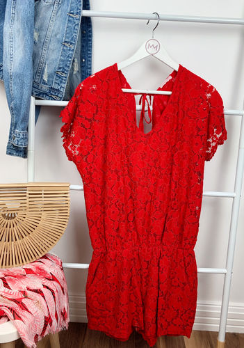 "Jumpsuit ""Holiday"", rot"