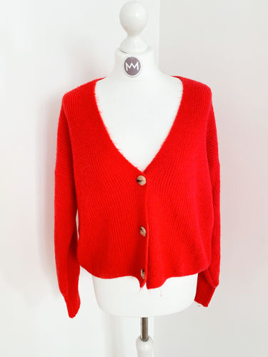 "Cardigan ""Catch"", rot"