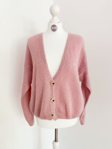 "Cardigan ""Catch"", rosé"
