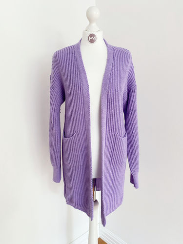 "Longcardigan ""Colour"", flieder"
