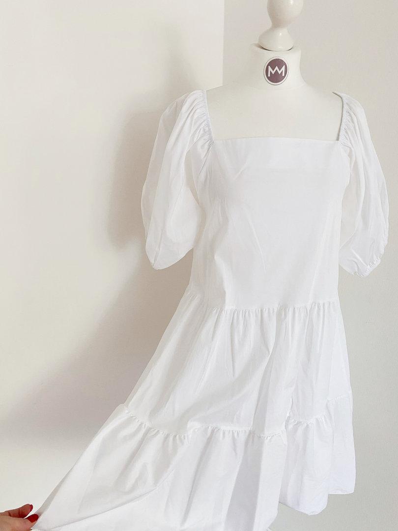 "Kleid ""Carmen"", weiß"