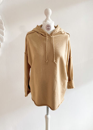 "Hoodie ""Perfect"", camel"
