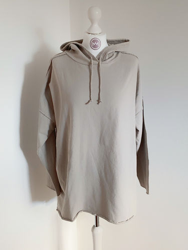 "Hoodie ""Perfect long"", beige"