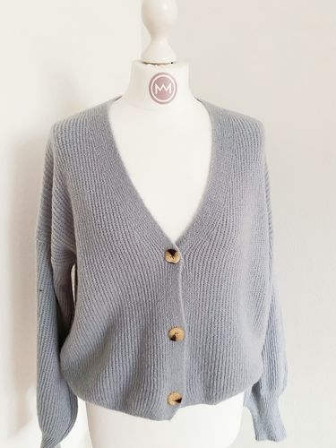 "Cardigan ""Catch"", grau"